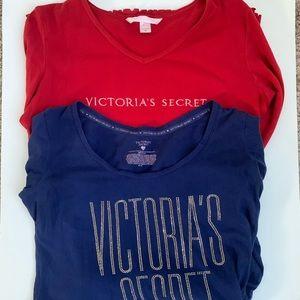 Victoria's Secret Bundle of Two Nightshirts